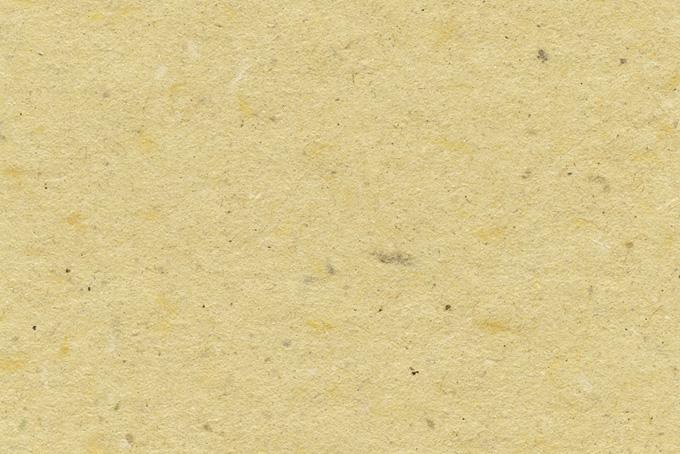 ザラザラとした麦藁色の山根和紙