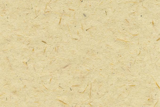 繊維の入った生成り色の和紙