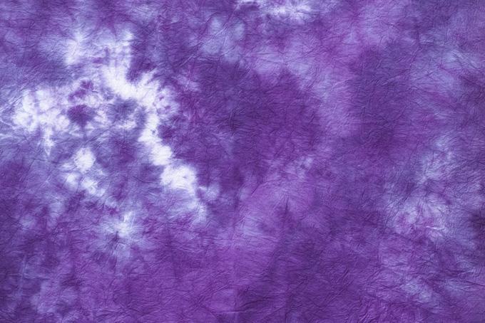 桔梗の花のような紫色の和紙
