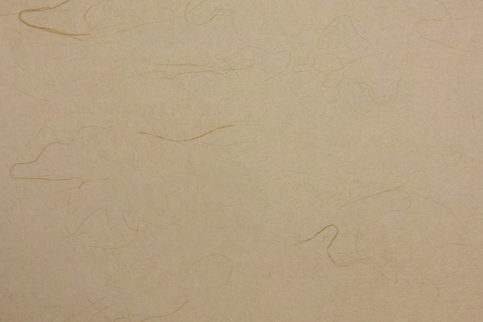 空五倍子色の筋模様がある和紙