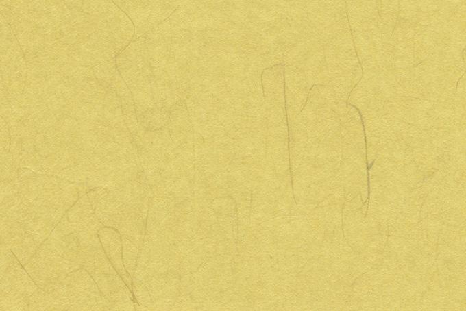 楮のテクスチャがある淡黄色の和紙