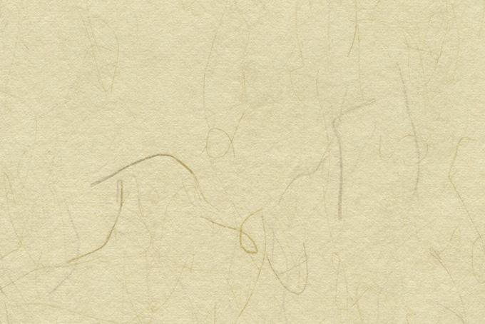 素朴な淡黄蘗色の和紙