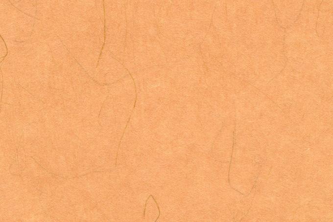 温かみのある照柿色の和紙