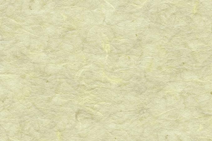 楮の質感が浮き出た淡黄蘗の和紙の背景