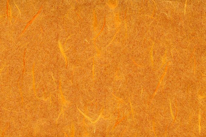 夕焼けの様なオレンジ色の雲竜和紙の背景