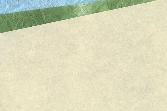 涼し気な色合いの和紙の背景のテクスチャ