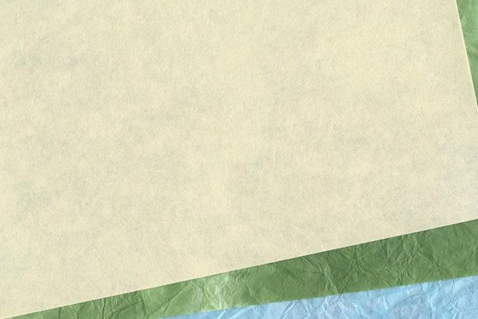 涼し気な夏をイメージする和紙の背景のテクスチャ