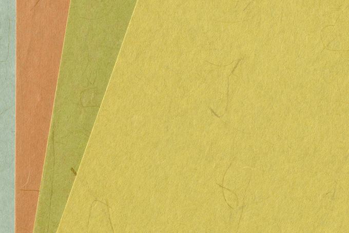 四枚の茶系和紙の和風無地バックグラウンド(シンプル背景のフリー写真)