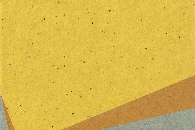 素朴な風合いの皮入り和紙背景のテクスチャ