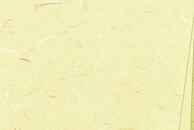 黄色がかった白の和紙背景のテクスチャ