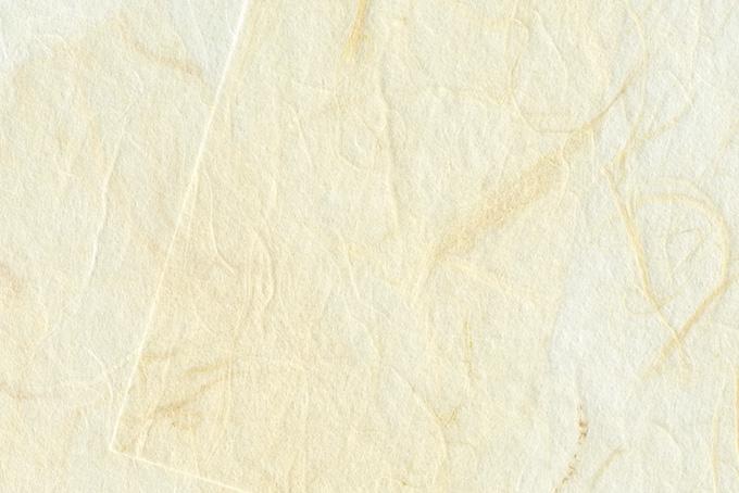 雲竜模様の白い和紙の背景のテクスチャ
