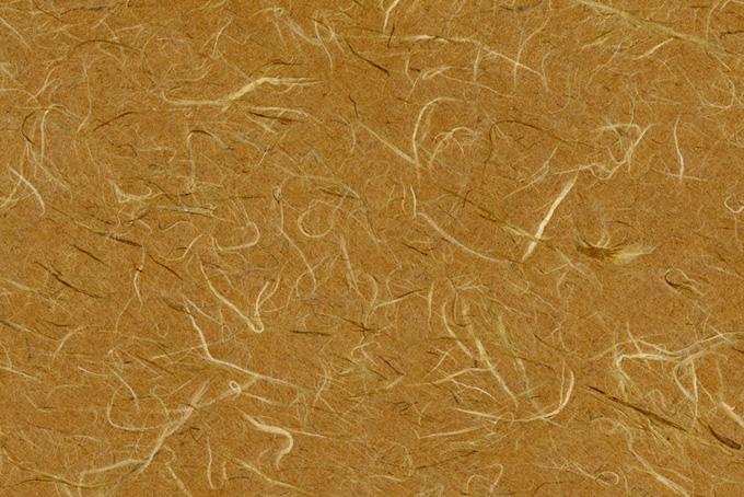 質朴な風合いの桑茶色の和紙の画像素材