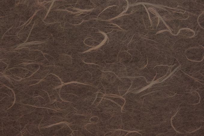雲竜模様が入った黒茶色の和紙の画像素材