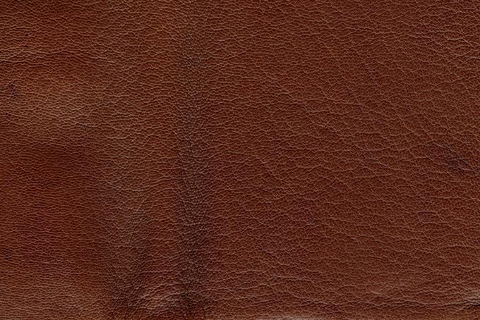 茶色い牛革のテクスチャ(革 テクスチャのフリー画像)