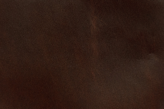 古い赤茶色のコードバン