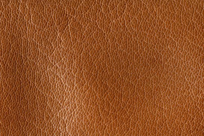 茶色い牛皮(革 テクスチャのフリー画像)