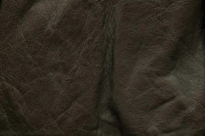 黒い牛革のテクスチャ(革 テクスチャのフリー画像)