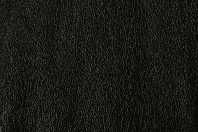 重厚なイメージのブラックレザー(革 テクスチャのフリー画像)
