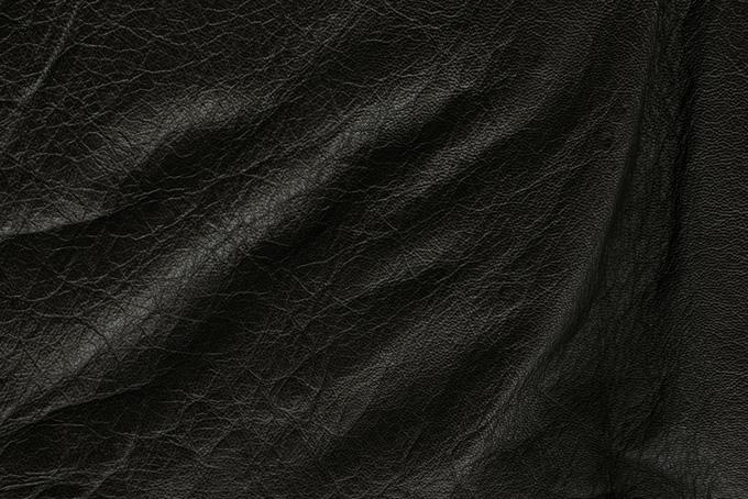 ドレープの様なたるみのある皮(革 テクスチャのフリー画像)