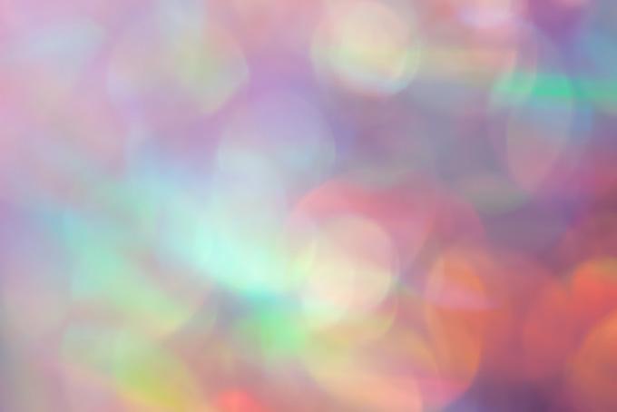 幻想的な光のボケの素材