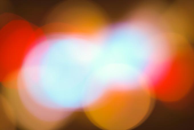 豊かな光のグラデーション