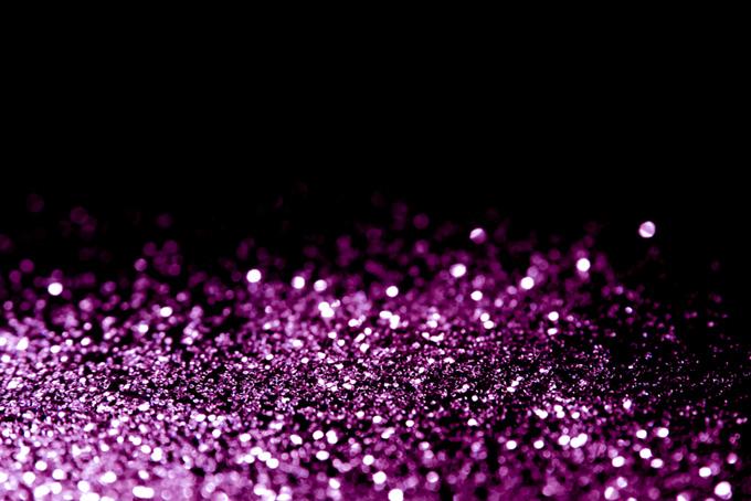 ピンク色の光の粒