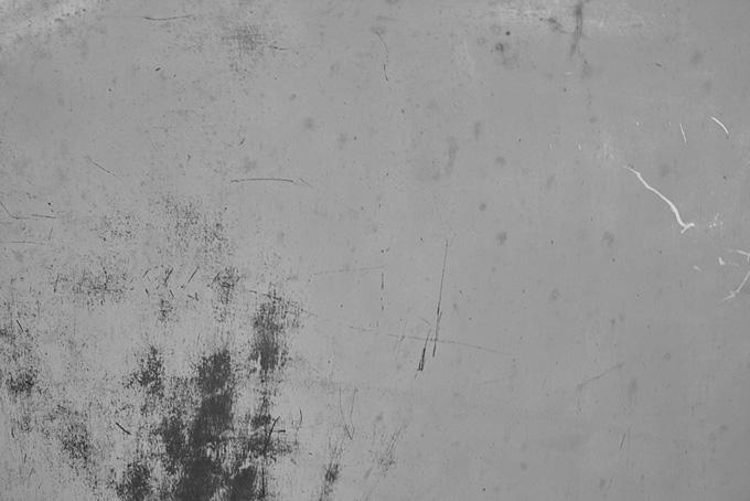 擦れた灰色の金属素材