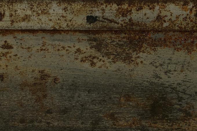 錆びた鉄のテクスチャ
