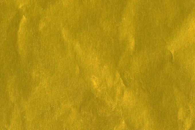 金色に光るメタル