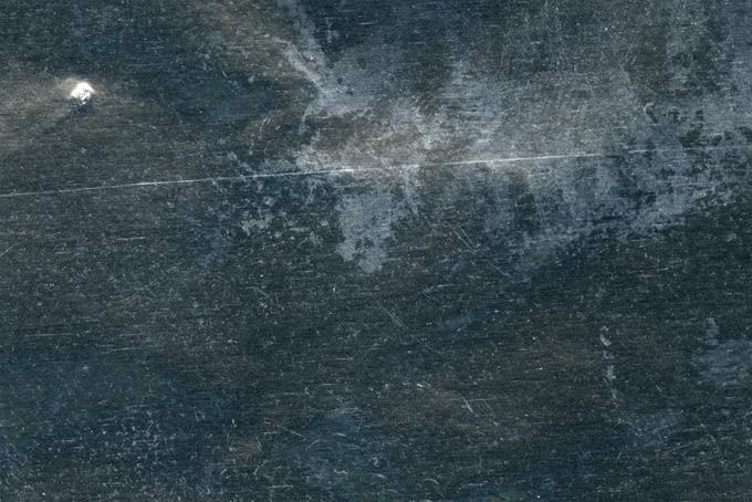 汚れた金属の表面