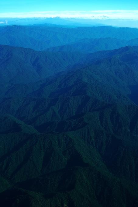 山と空のテクスチャ