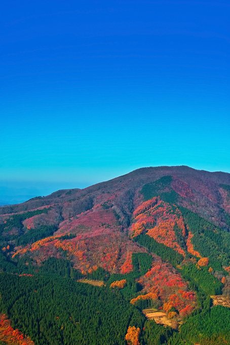 山と空の背景
