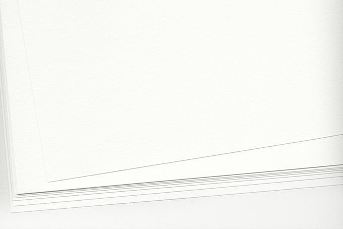 白い水彩紙