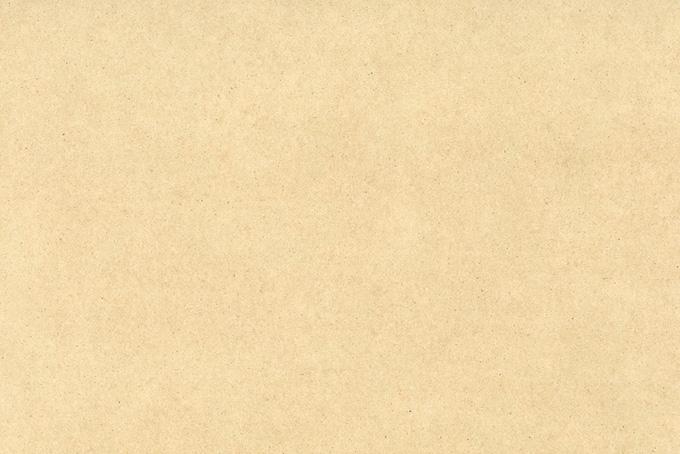 繊維が見える薄茶色の紙