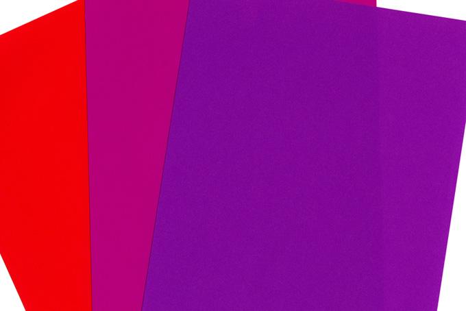 三色の折り紙の背景