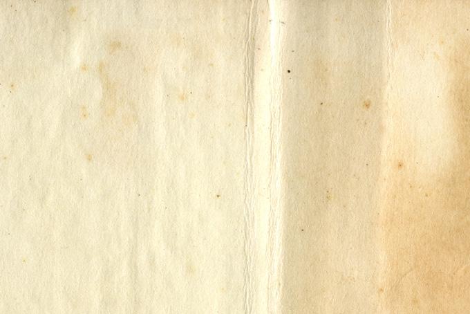 古い紙の味のある風合いのテクスチャ(紙 テクスチャのフリー画像)