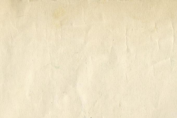 年月を経たセピア色の紙のテクスチャ(紙 テクスチャのフリー画像)