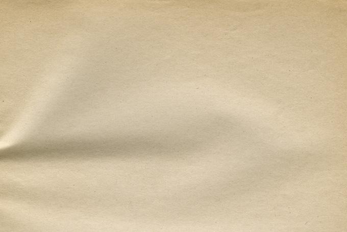 シワのある古紙のテクスチャ(紙 テクスチャのフリー画像)