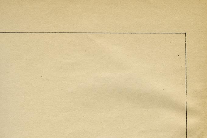 黒い線がある古い紙の背景(紙 テクスチャのフリー画像)
