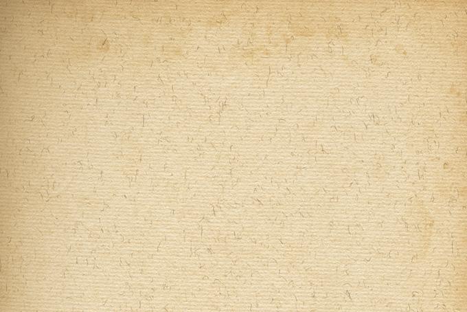 端が焼けたビンテージの紙の素材(紙 テクスチャのフリー画像)