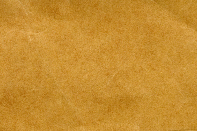紙 茶色い紙(紙 無地の背景フリー画像)