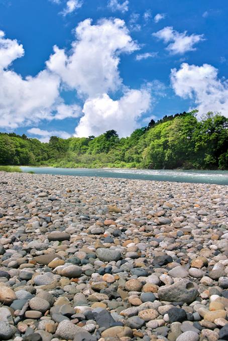 渓流の画像