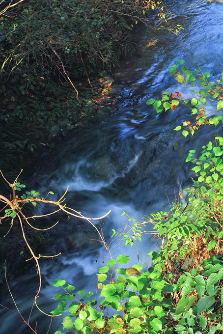 川と滝のテクスチャ