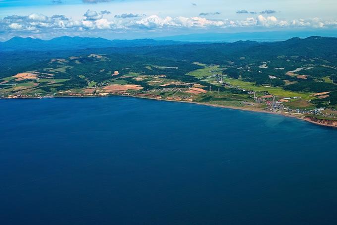 海沿を開発した町