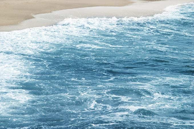 波打ち際のテクスチャ