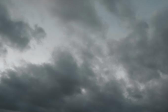 空と様々な雲