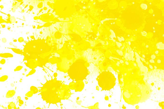 黄スプラッシュ、中黄色、黄檗色、藤黄色、黄支子色、き、キ、黄色い、黄色、黄味、黄系、イエロー、Yellow