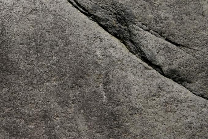 灰色の石の素材