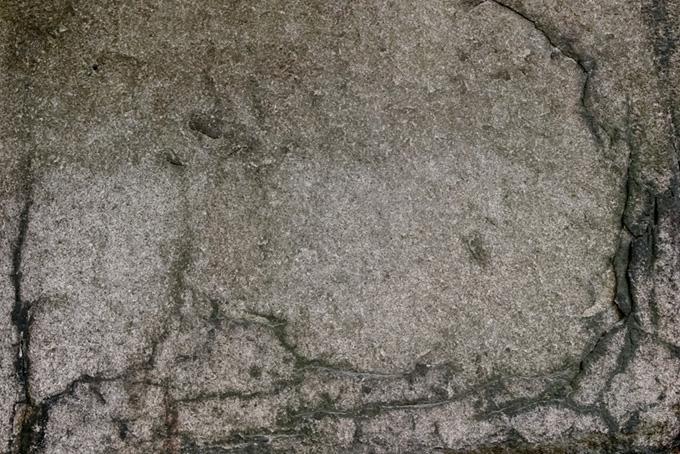 大きな岩の質感