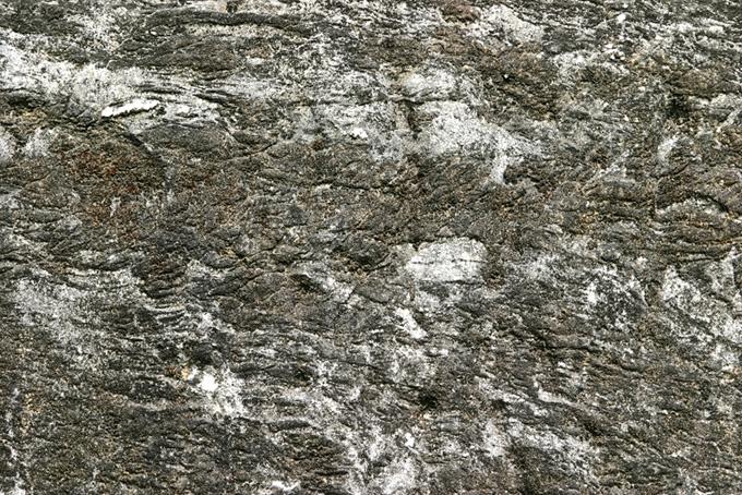 マーブルの皺が入った石の素材